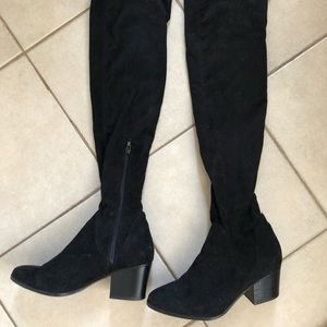Aldo over the knee suede boots size 7